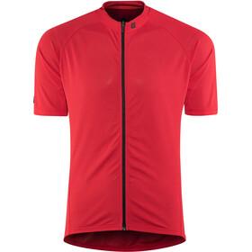 Bontrager Solstice Koszulka rowerowa z zamkiem błyskawicznym Mężczyźni, cardinal